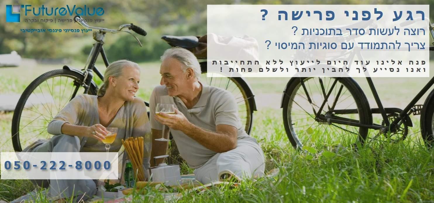 ייעוץ פרישה לפנסיה